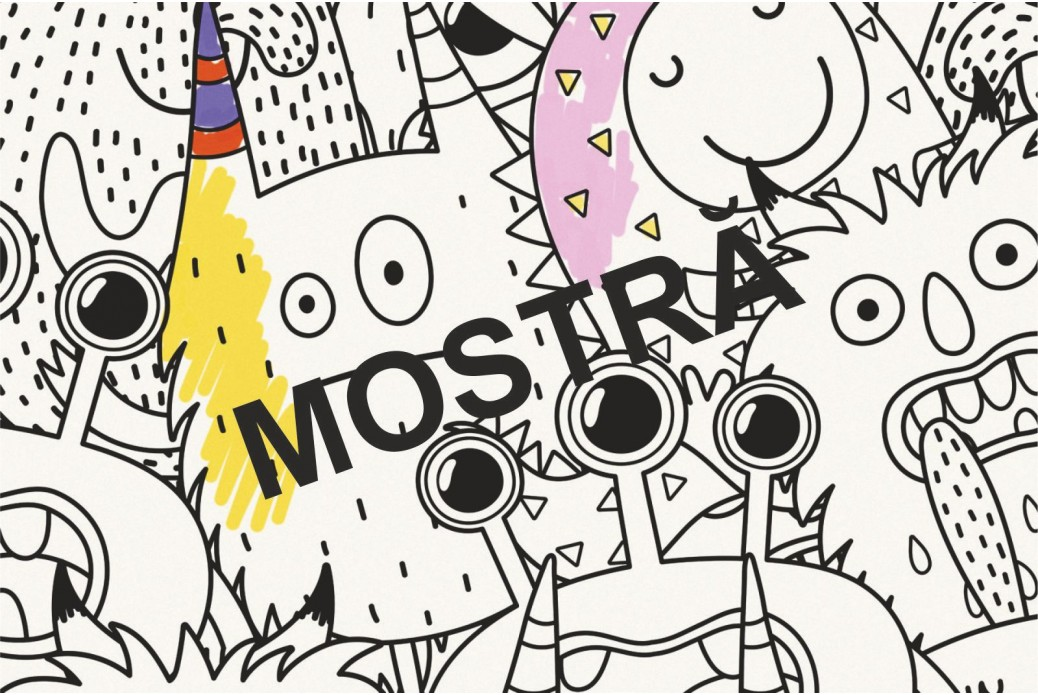 Mostra Whiteboard Monster